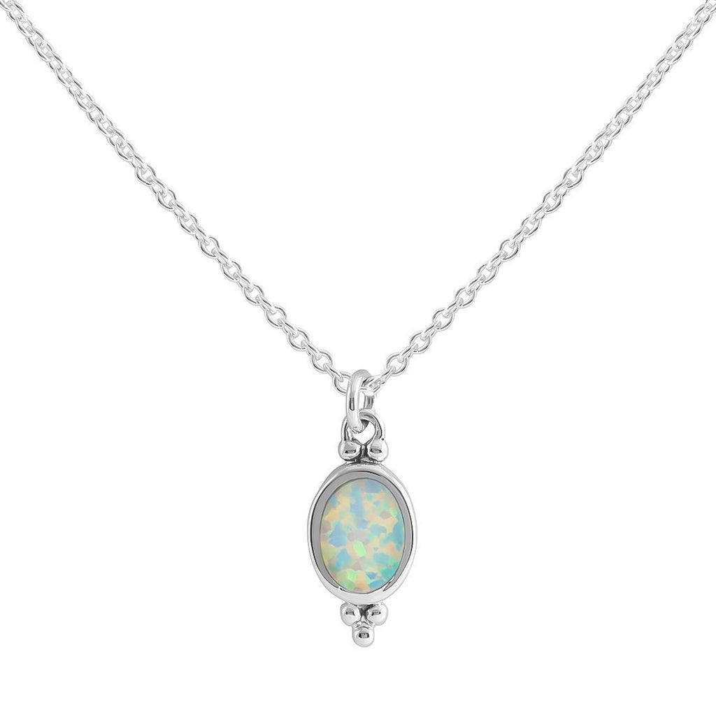 Moon Song Opal Necklace