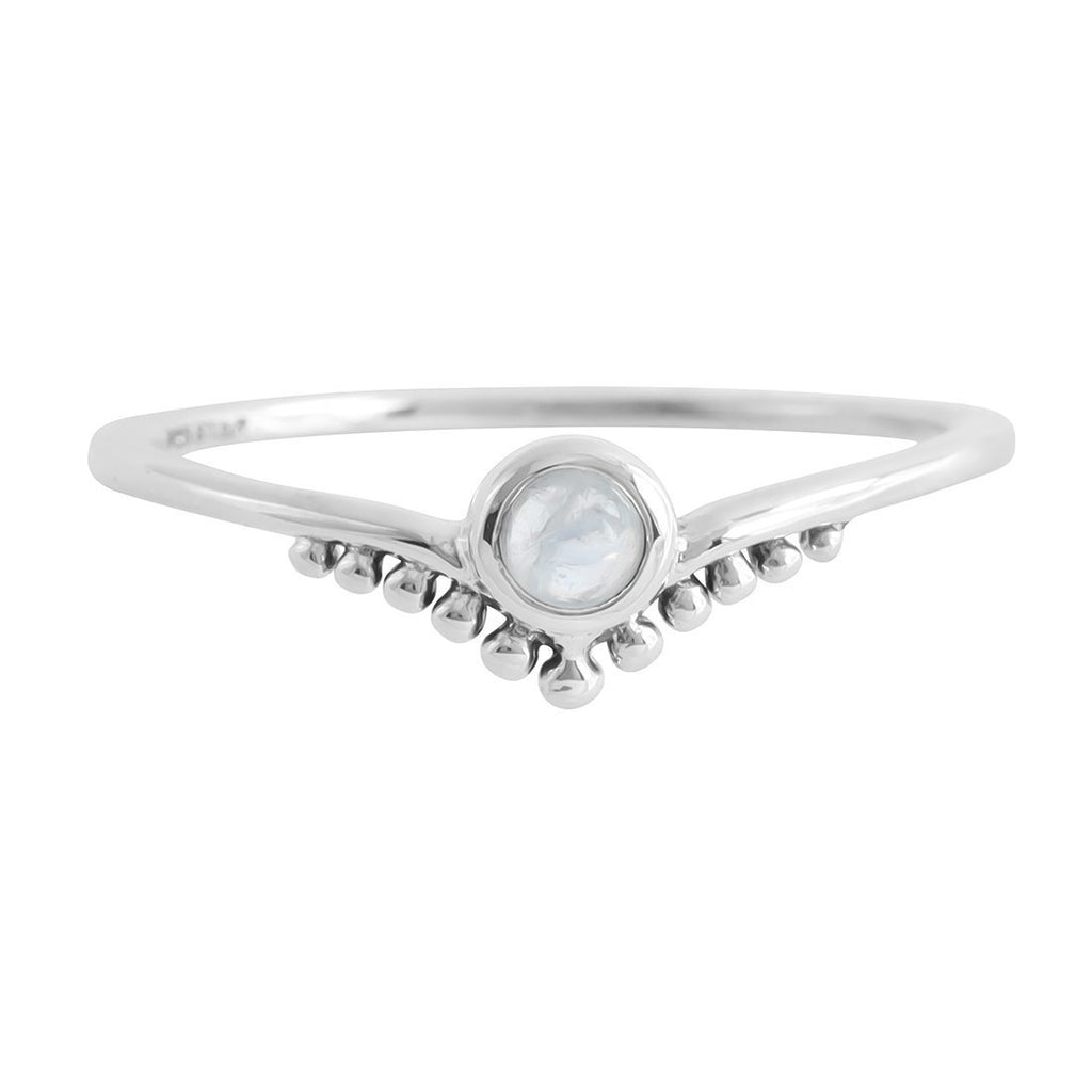 Diadème Moonstone Ring