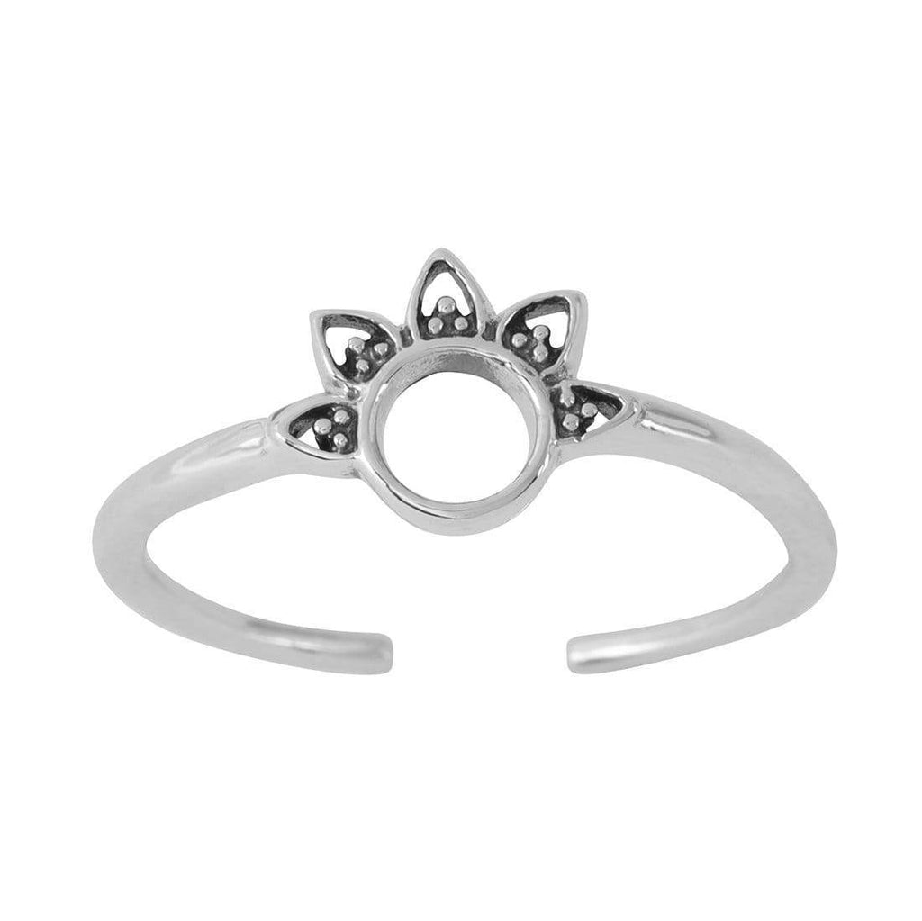 Rising Sun Adjustable Midi Ring