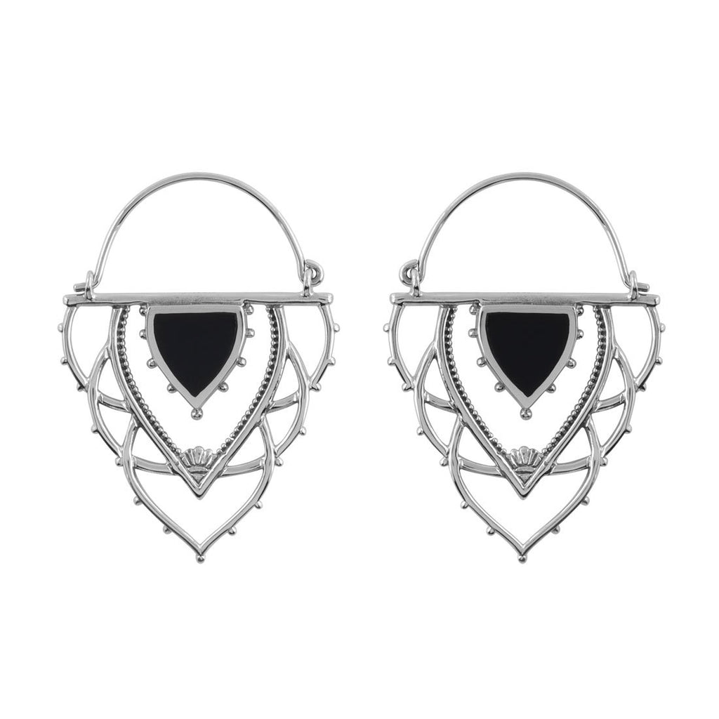 Ancient Archways Onyx Earrings