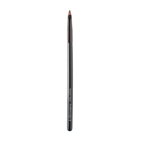 Moonrise Creek Vegan Line And Smudge Brush (Eye & Brow) - Brown Faux