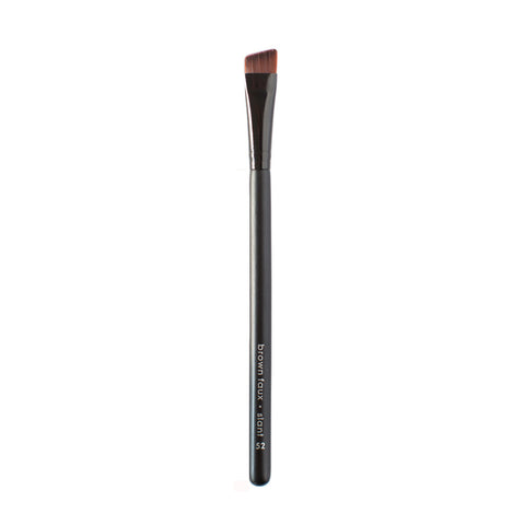 Moonrise Creek Vegan Slant Brush (Eye & Brow) - Brown Faux