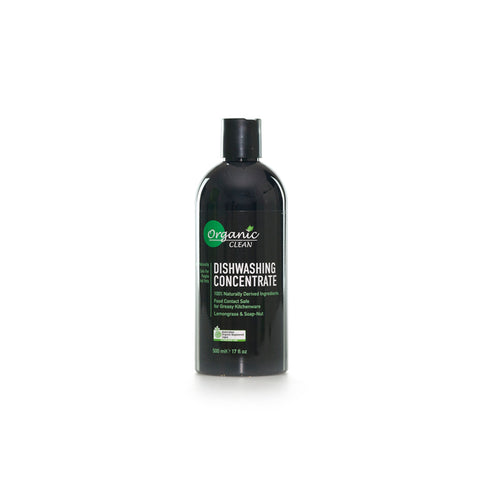 Organic Clean Dishwashing Concentrate (500ml)