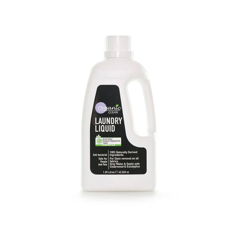 Organic Clean Laundry Liquid (1.25L)