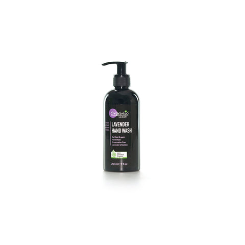 Organic Clean Lavender Hand Wash (250ml)