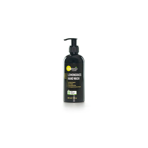Organic Clean Lemongrass Hand Wash (250ml)