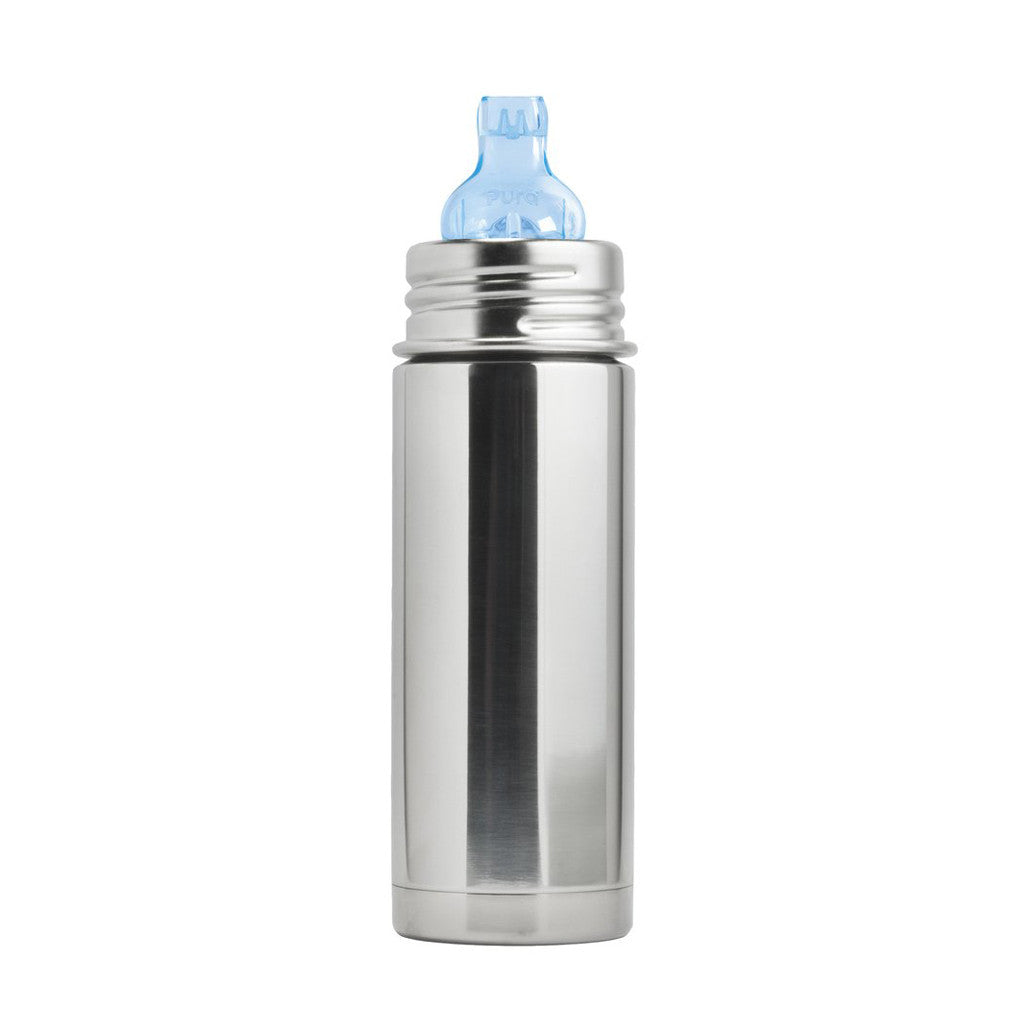 Pura Kiki Stainless Steel Insulated Toddler Sippy Bottle (250ml)