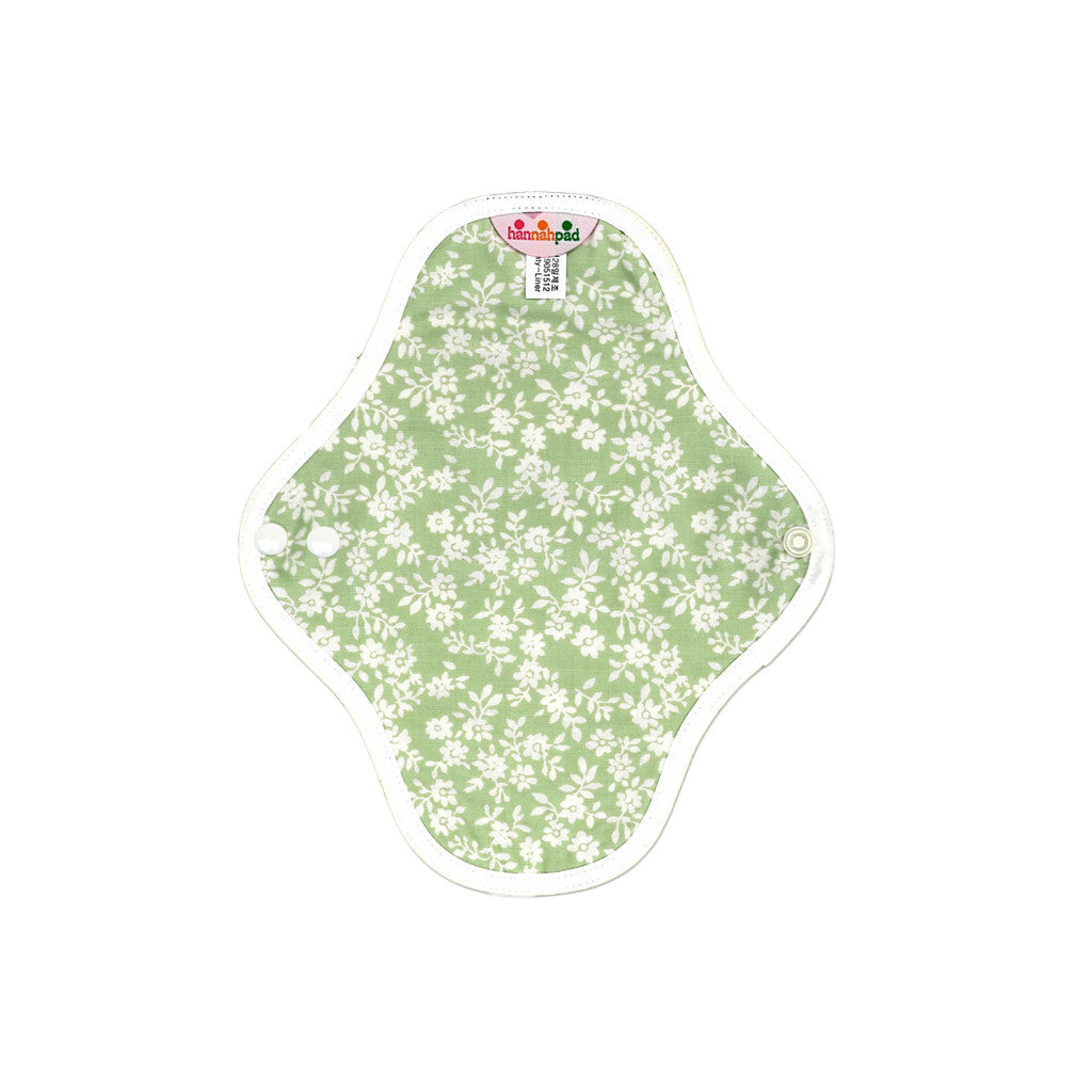 hannahpad Organic Cotton Menstrual Clothpad Small (2pk) Various Patterns