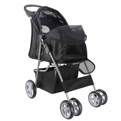 DoggyMarket 4 Wheels Dog Stroller