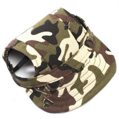 DoggyMarket Camouflage Dog Baseball Hat