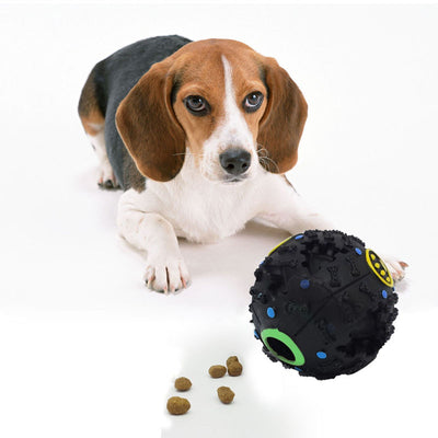 7.5cm Dog Food Dispenser Toy Chew Ball