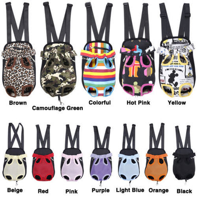 Front Backpack Dog Bag Carrier
