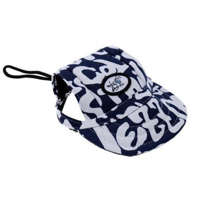 DoggyMarket Black White Dog Baseball Hat