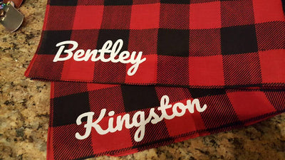 Customized Dog Bandana