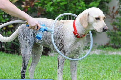 Dog Cat Shower Kit - Woof Washer 360