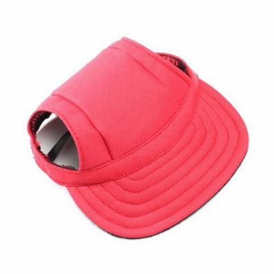 DoggyMarket Red Dog Baseball Hat