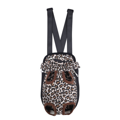 DoggyMarket Leopard Front Dog Bag Carrier