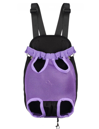 DoggyMarket Purple Front Dog Bag Carrier