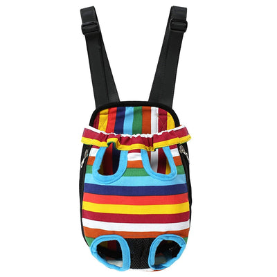 DoggyMarket Colorful Front Dog Bag Carrier