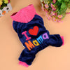 DoggyMarket I Love Mama Dog Hoodie Sweater