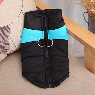 DoggyMarket Blue Waterproof Dog Jacket Coat