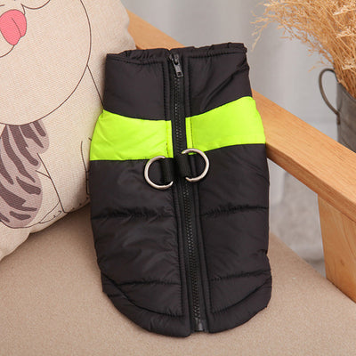 DoggyMarket Green Waterproof Dog Jacket Coat