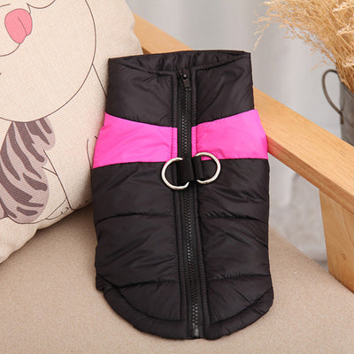 DoggyMarket Pink Waterproof Dog Jacket Coat