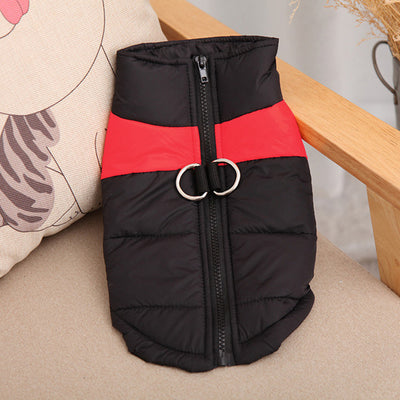 DoggyMarket Red Waterproof Dog Jacket Coat