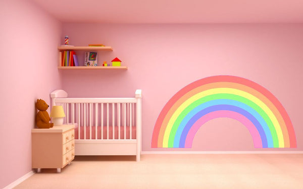 Pastel Rainbow wall sticker