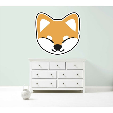 Japanese Shiba Inu vinyl wall sticker decal 5 sizes