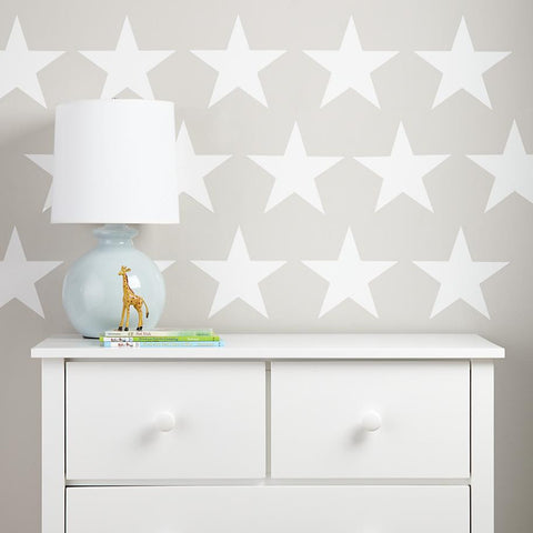 Stars wall stickers kit - all colours and two size options