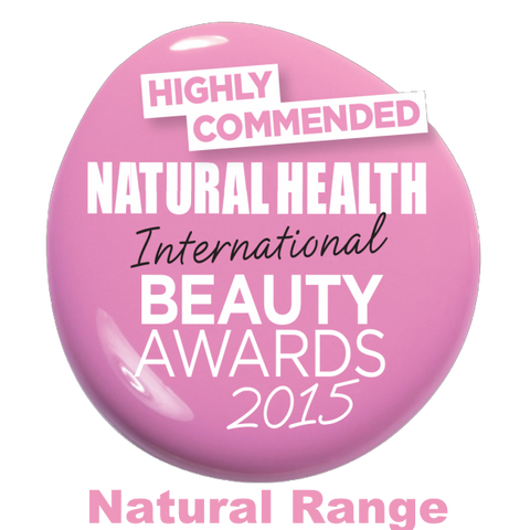 Natural Health Beauty Awards Highly Commended 2015