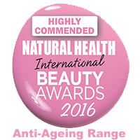 Natural Health International BeautyAwards Highly Commended 2016