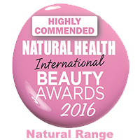 Natural Health Beauty Awards Highly Commended 2016