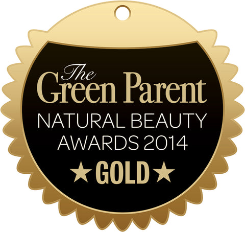 Green Parent Natural Beauty Awards 2014 Gold