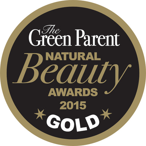 Green Parent Natural Beauty Awards 2015 Gold
