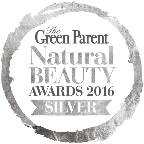 Green Parent Natural Beauty Awards 2016 Silver