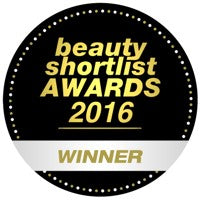 Beauty Shortlist Awards 2016 winner