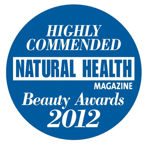 Natural Health Beauty Awards 2012 Highly Commended