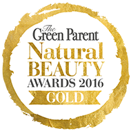 The Green Parent Natural Beauty Awards 2016 Gold
