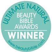 Ultimate Natural Beauty Bible Awards Winner