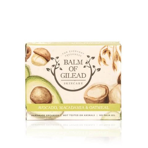 Avocado, Macadamia & Oatmeal Soap