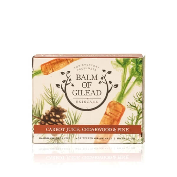 Balm of Gilead Skincare Carrot Juice Bar Soap
