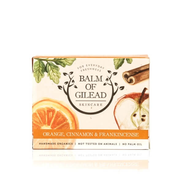 Balm of Gilead Skincare Savon Orange, Cannelle & Encens Bio