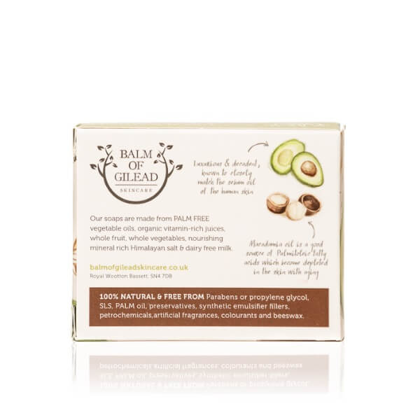 Balm of Gilead Skincare Avocado & Macadamia Bar Soap