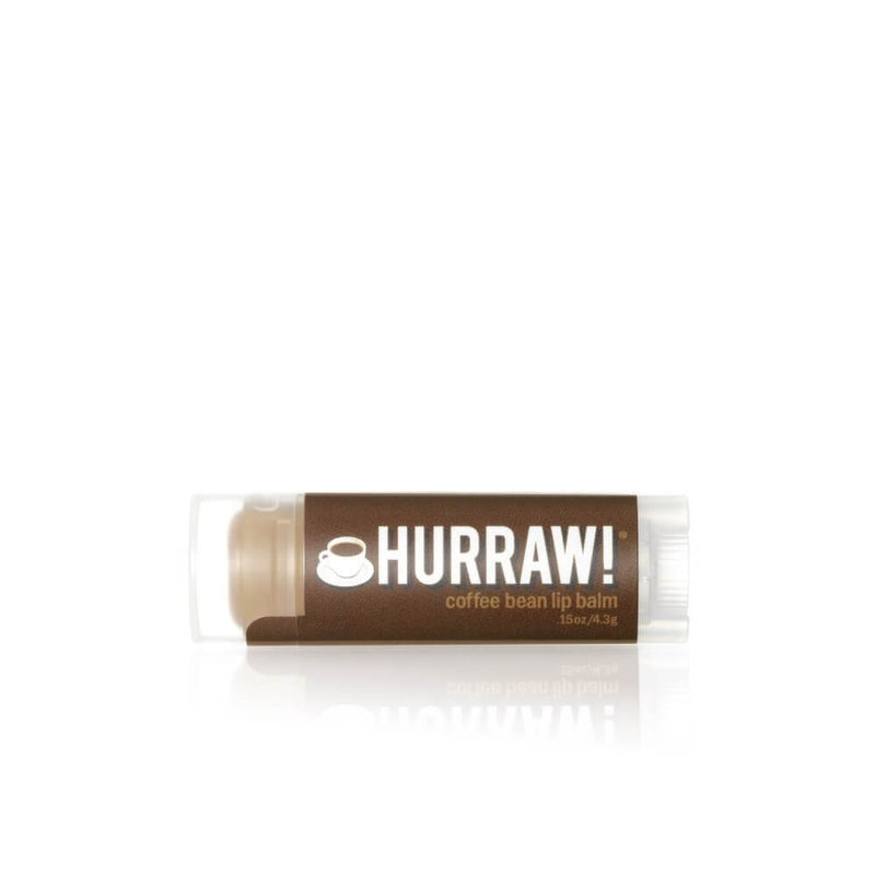 Hurraw Baume à Lèvres Grain de Café / Coffee Bean Lip Balm