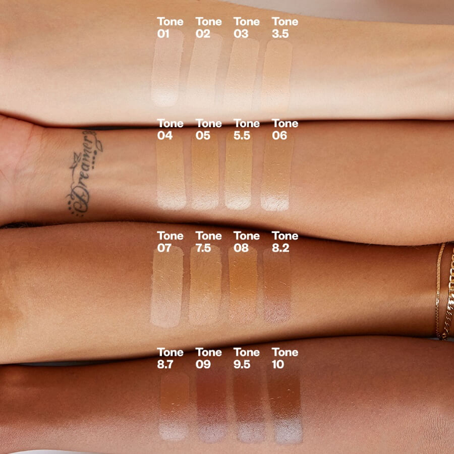Kosas Arm Swatch Tinted Face Oil