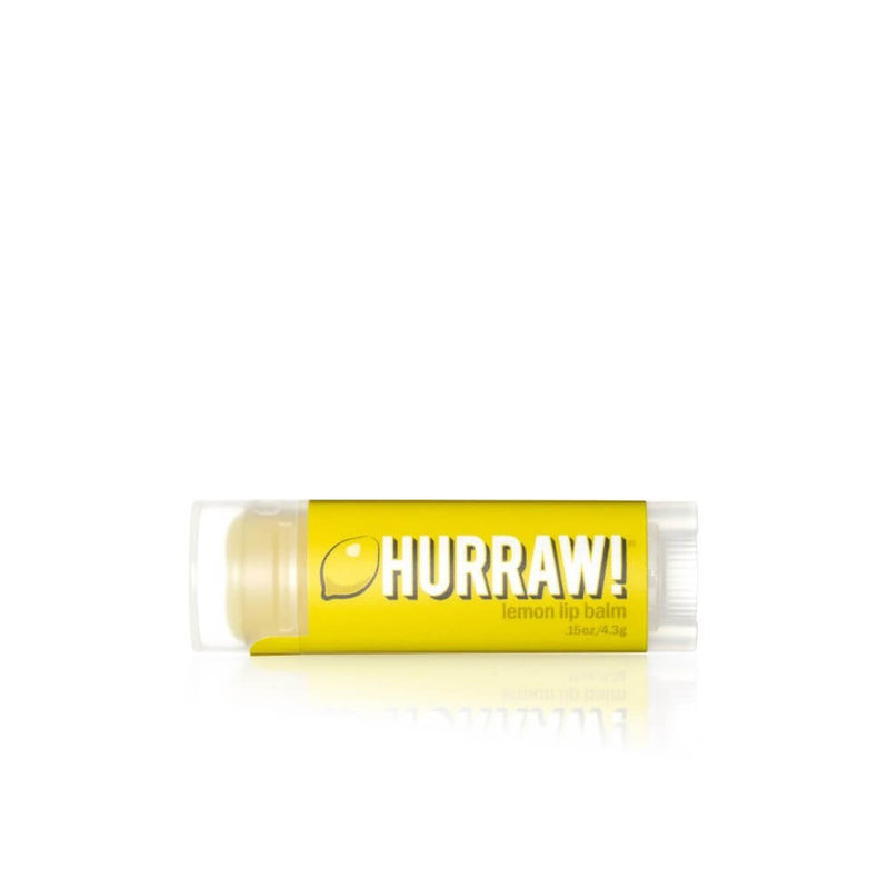Hurraw Baume à Lèvres Citron / Lemon Lip Balm