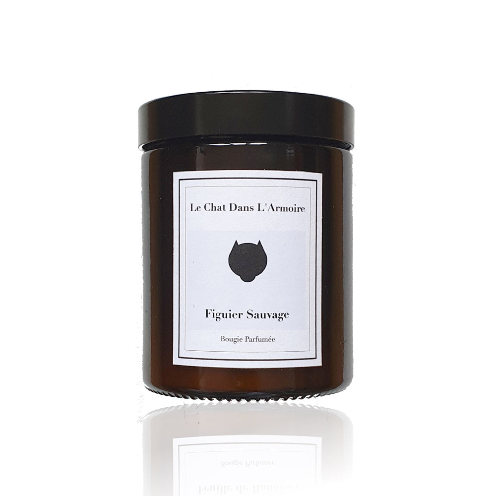 Wild Fig Tree Candle - soy Wax