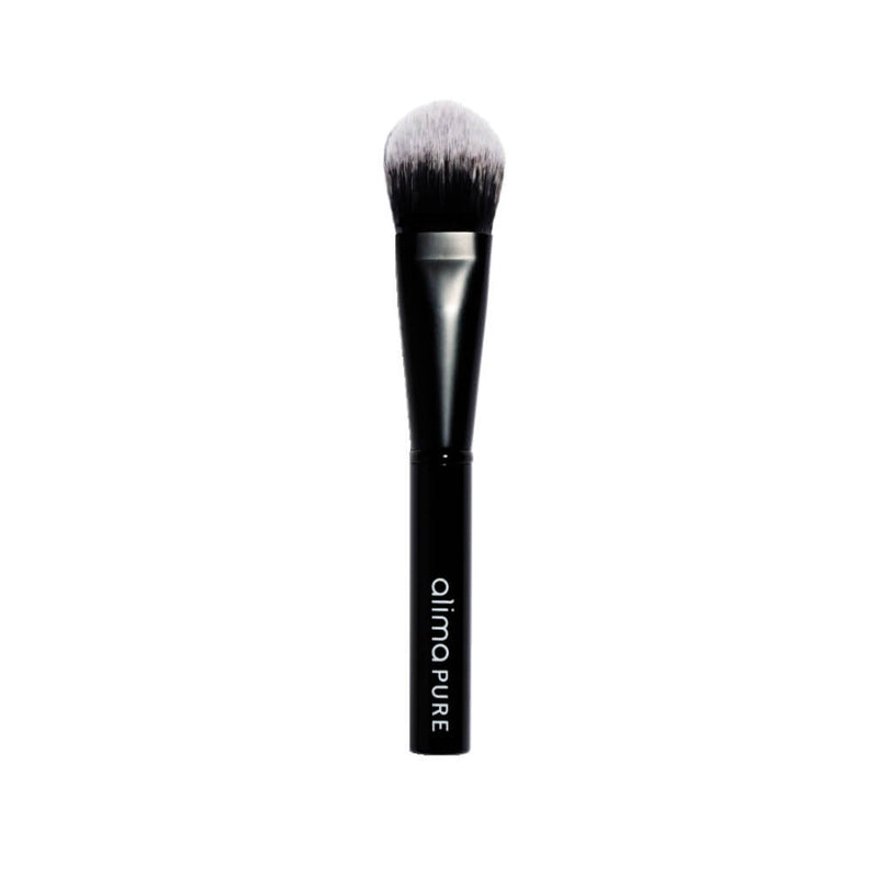 Alima Pure Pinceau Fond de Teint Liquid - Vegan Liquid Foundation Brush pour le fond de teint Liquid Silk